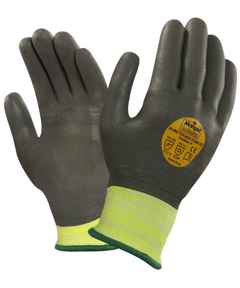 Ansell PureTough P3000 FD Insulator Level-3 Cut Resistant Cold Protection Gloves