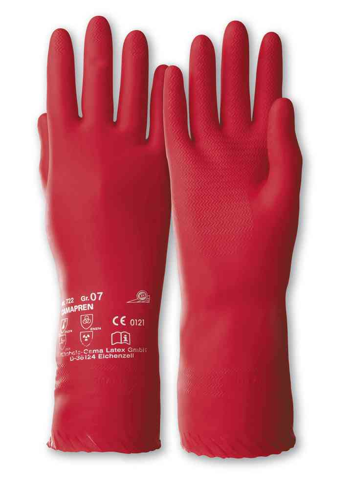 KCL Camapren 722 Chemical Resistant Polychloroprene Safety Gauntlets 30cm