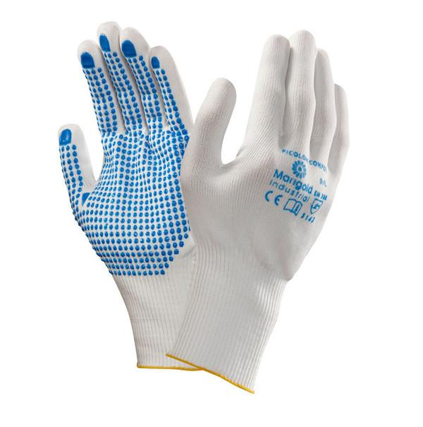 Ansell Picolon Confort PVC Dots Palm Coating Work Gloves