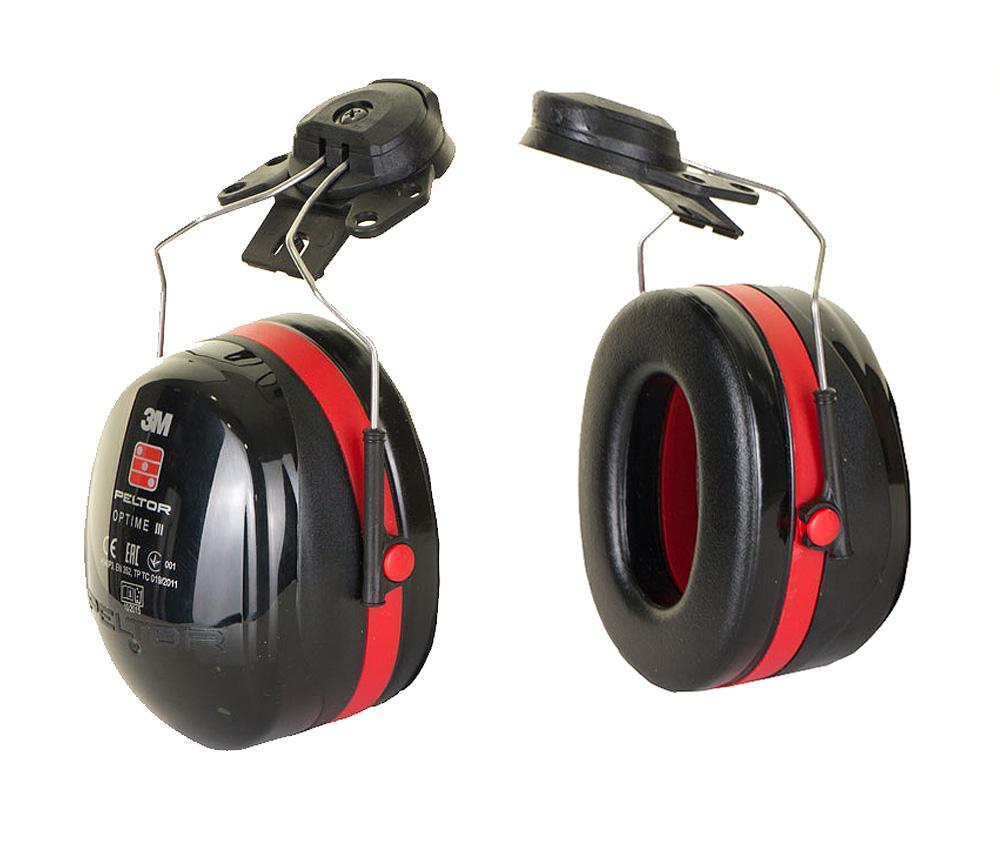 3M Peltor Optime III Helmet Attached Ear Defenders SNR=34dB