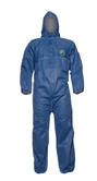 DuPont ProShield 10 CHF5 Disposable Hooded Coverall Type 5/6 Blue Size M