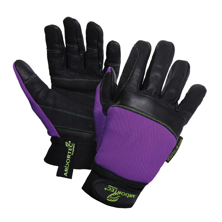 Arbortec Forestwear AT950 Pro Chainsaw Protection Leather Palm Forestry Gloves