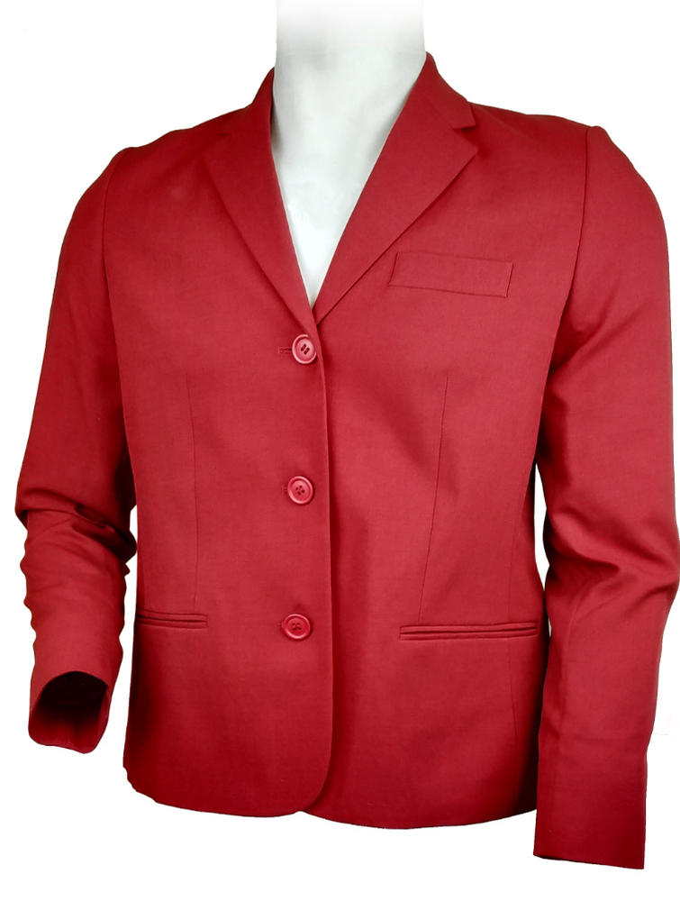Arvello Hudson 2466 Ladies Office Style Red Jacket