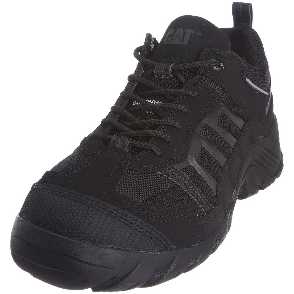 Cat Formation Metal Free Black Composite S1-P Safety Trainer Shoes, Size - 6
