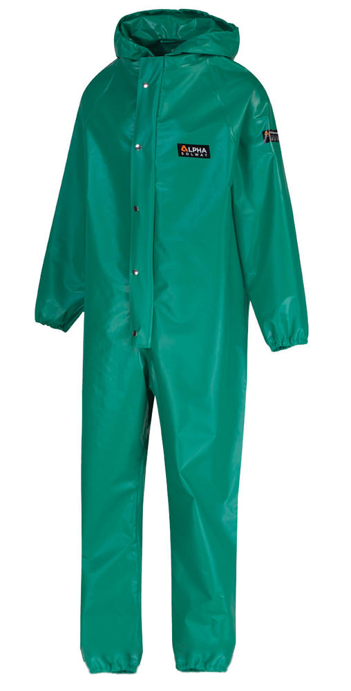 Alpha Solway CMBH-EWA Chemmaster Hooded PVC Coated Chemical Protection Coverall
