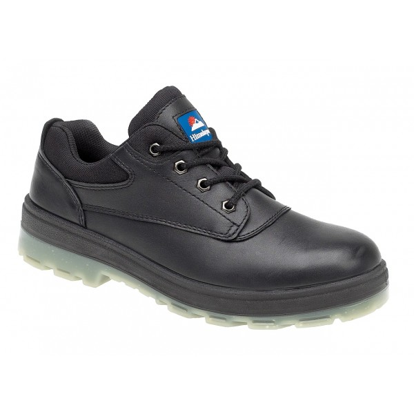 Himalayan 5018 Steel Toe Cap & Midsole S3 Black Casual Safety Shoes