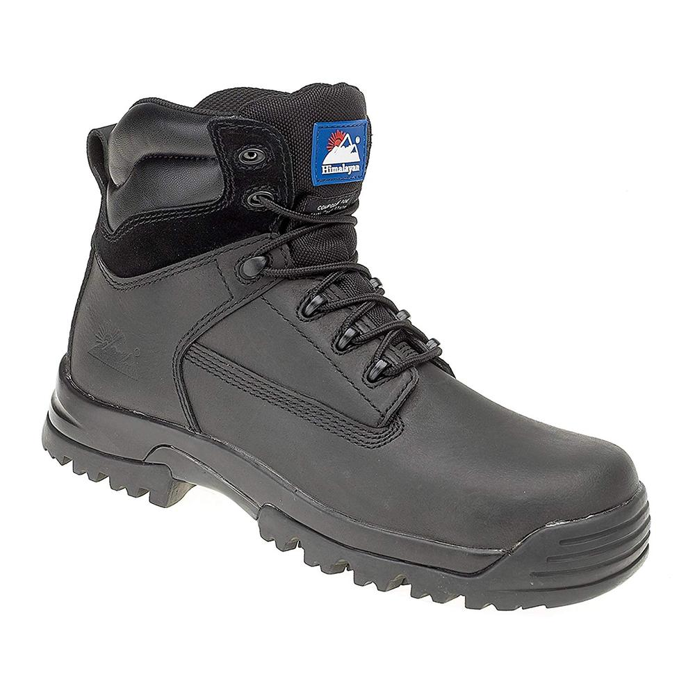 Himalayan 5202 Metal Free Waterproof Black S3 Safety Boots, Size - UK 6