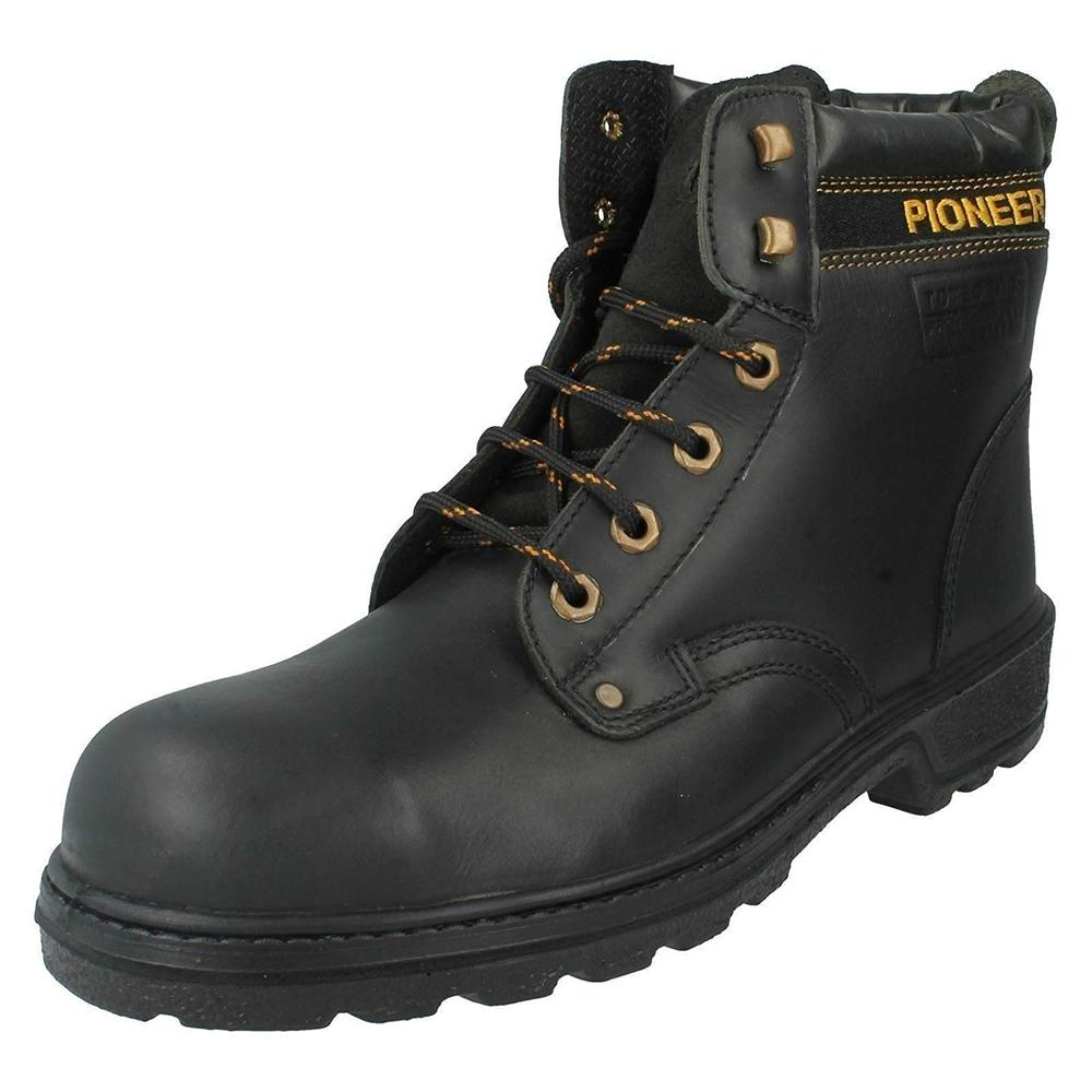 da03938add4 Totectors 3855 Pioneer Men S3 Safety Boots Black, Size UK 6 / EU 39