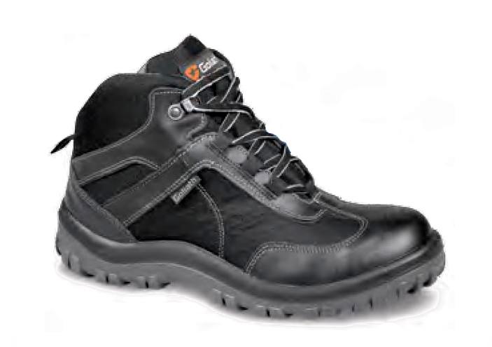 Goliath EL255L-BL Black S1 SRA Safety Hiker Boots, Size - UK 10
