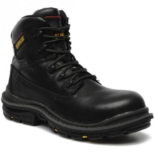 CAT Transition Work Safety S3 SRC Composite Toe Cap Black Boots