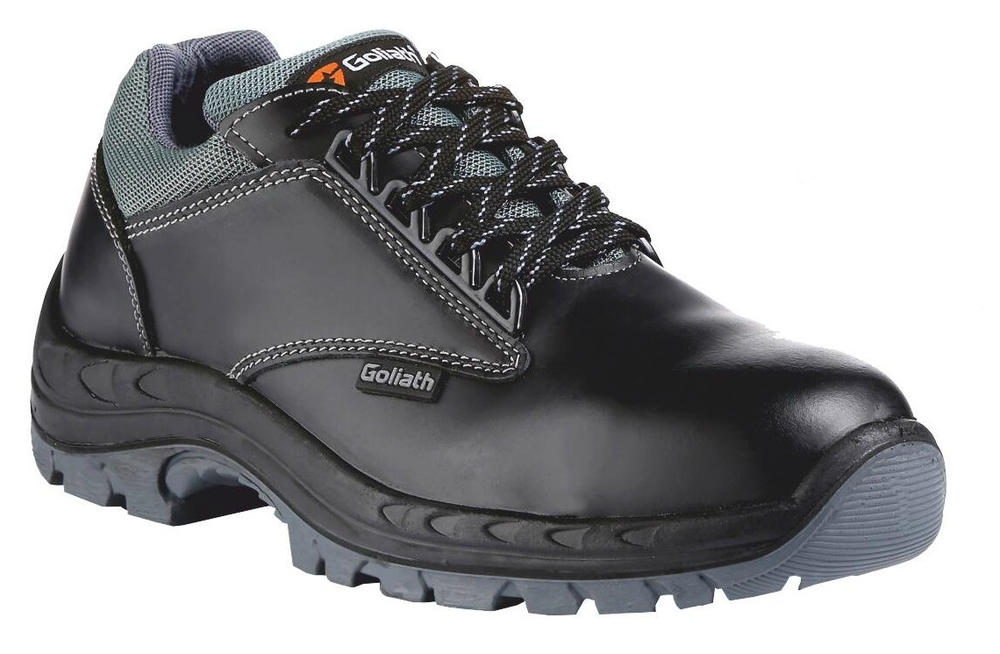 Goliath UL100P Black Metal Free Men S3 FO SRA Safety Trainer Shoes, Size - UK 9