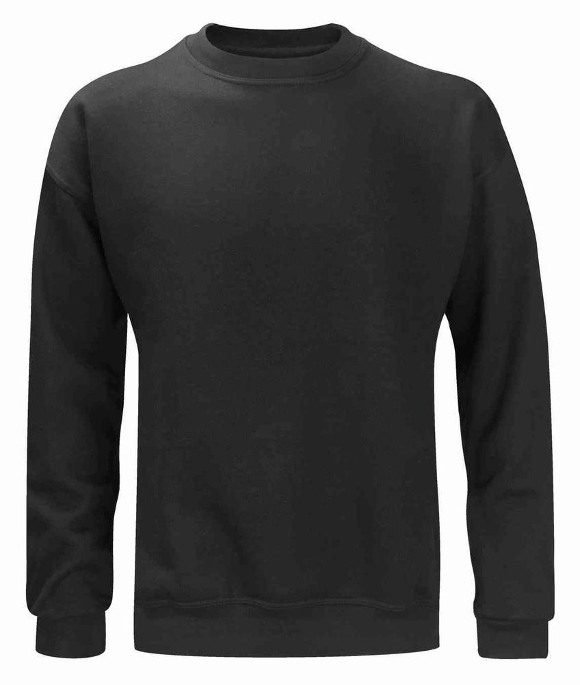 Orbit International Lascar Drop Shoulders Black Polycotton Sweatshirt
