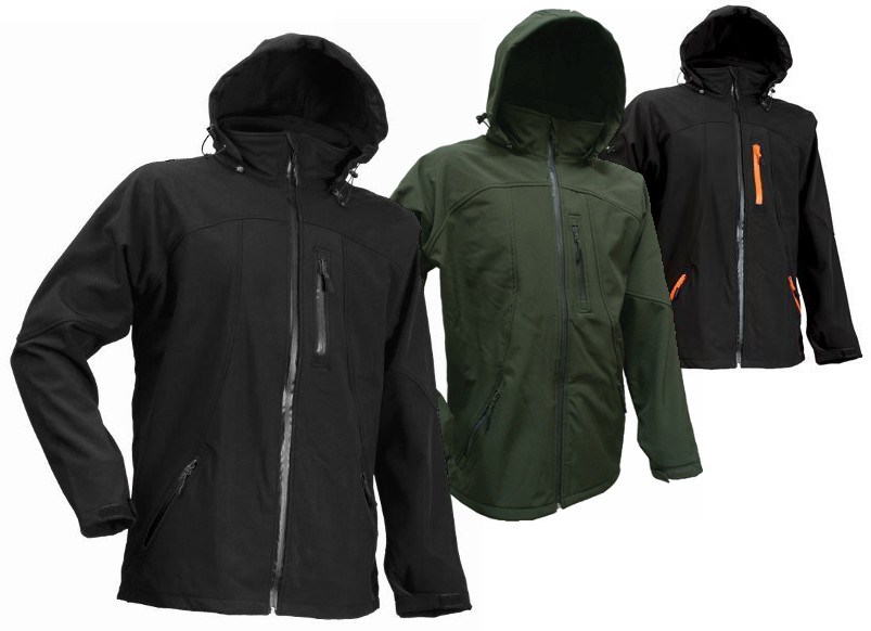 Lyngsoe Fox200 Water-Resistant Softshell Hooded Jacket - Various Colours