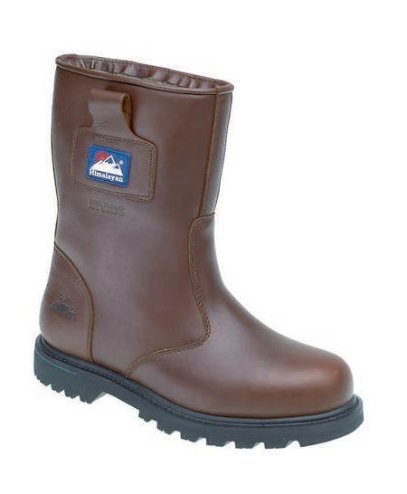 Himalayan 3550 Men Safety Rigger Boot Brown Leather Size UK 13