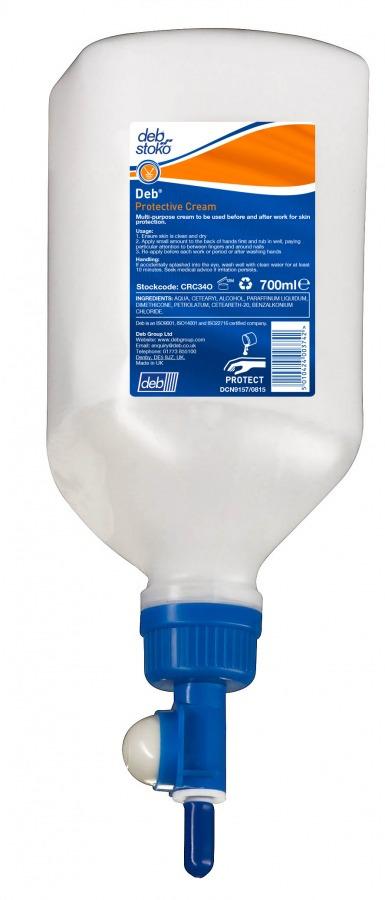 Deb Van Cradle Protective Cream 700ml Dispenser Refill