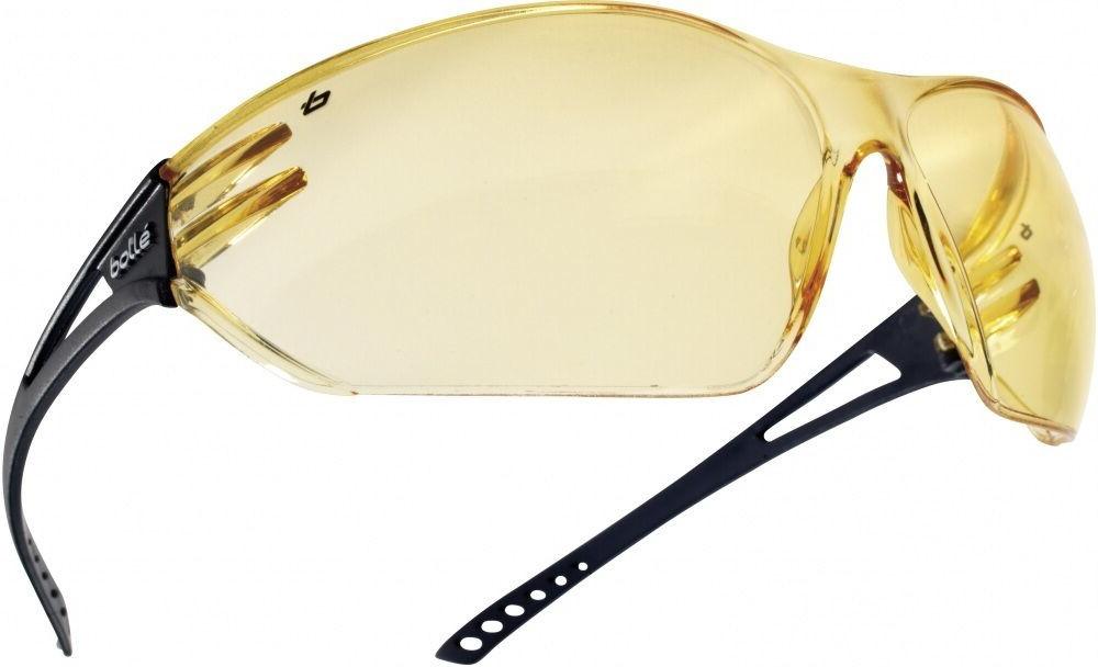 Bolle Modern & Stylish All-round Vision Slam Safety Glasses - Amber