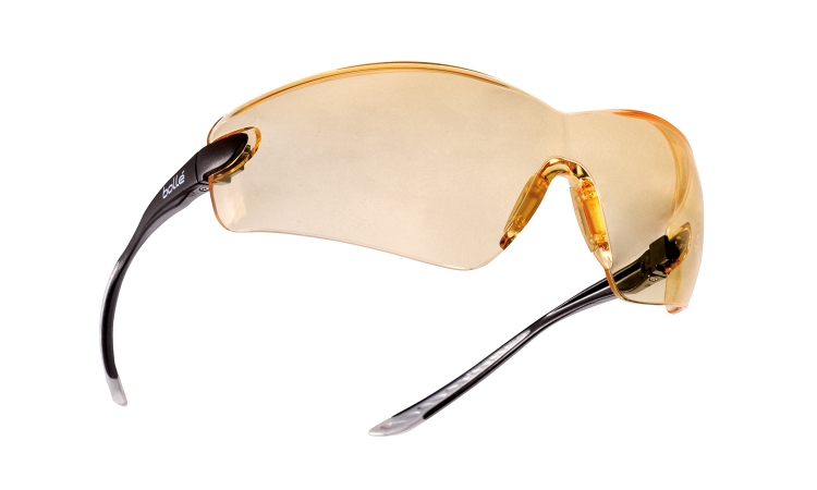 Bollé Cobra Safety Glasses Polycarbonate Yellow Lens
