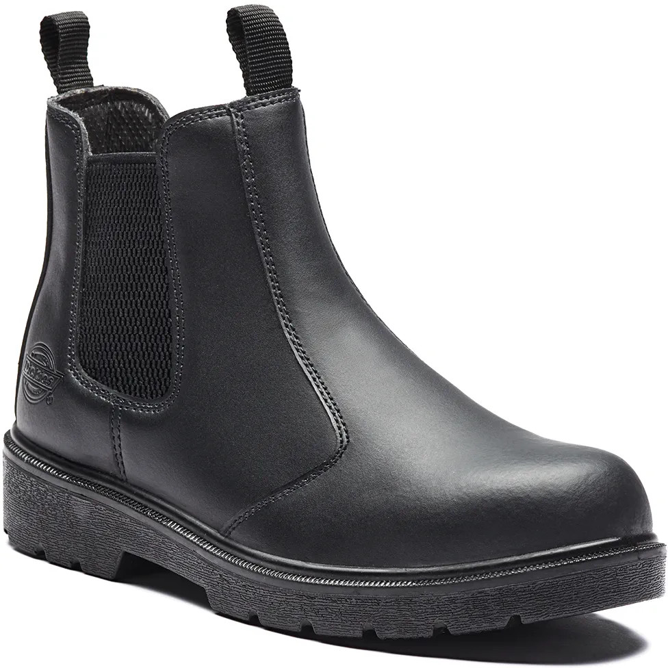 Dickies FA23345 Men Black S1-P SRA Safety Dealer Boots