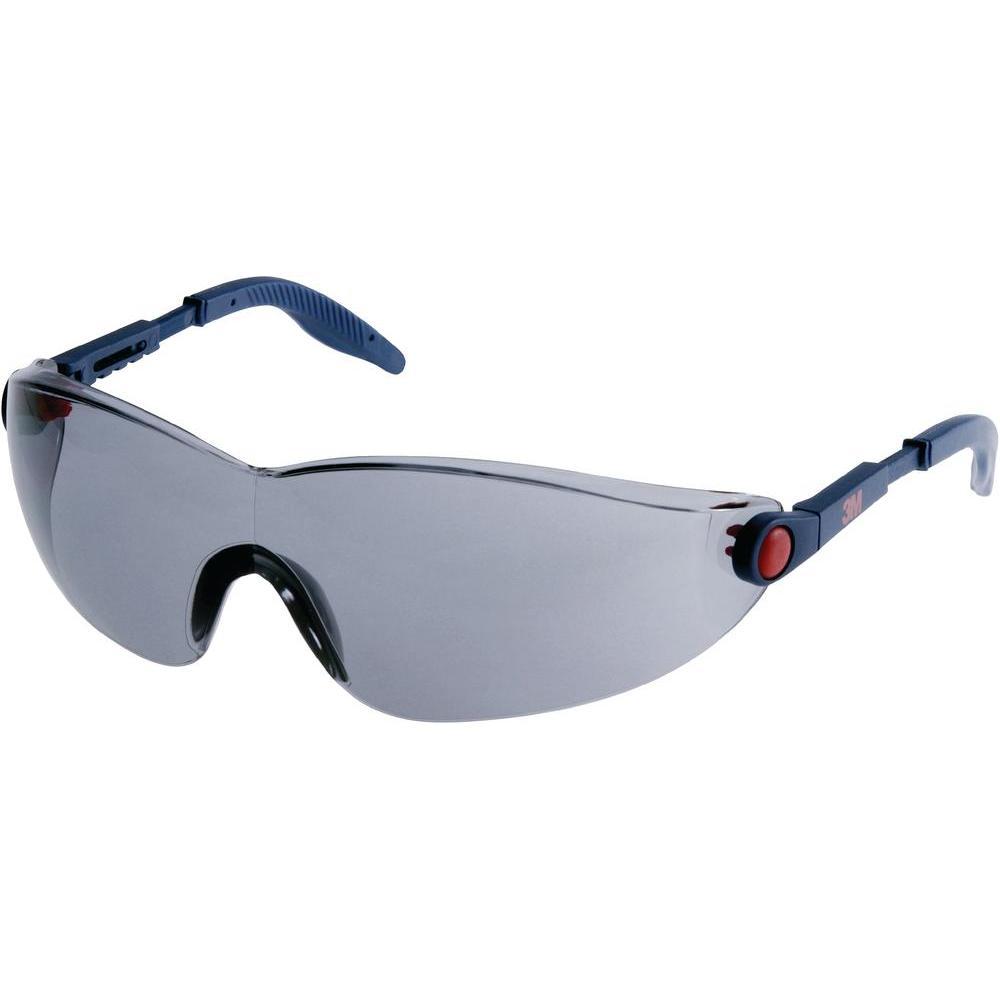 3M? 2741 Comfort Line Safety Glasses Polycarbonate Smoke Lens