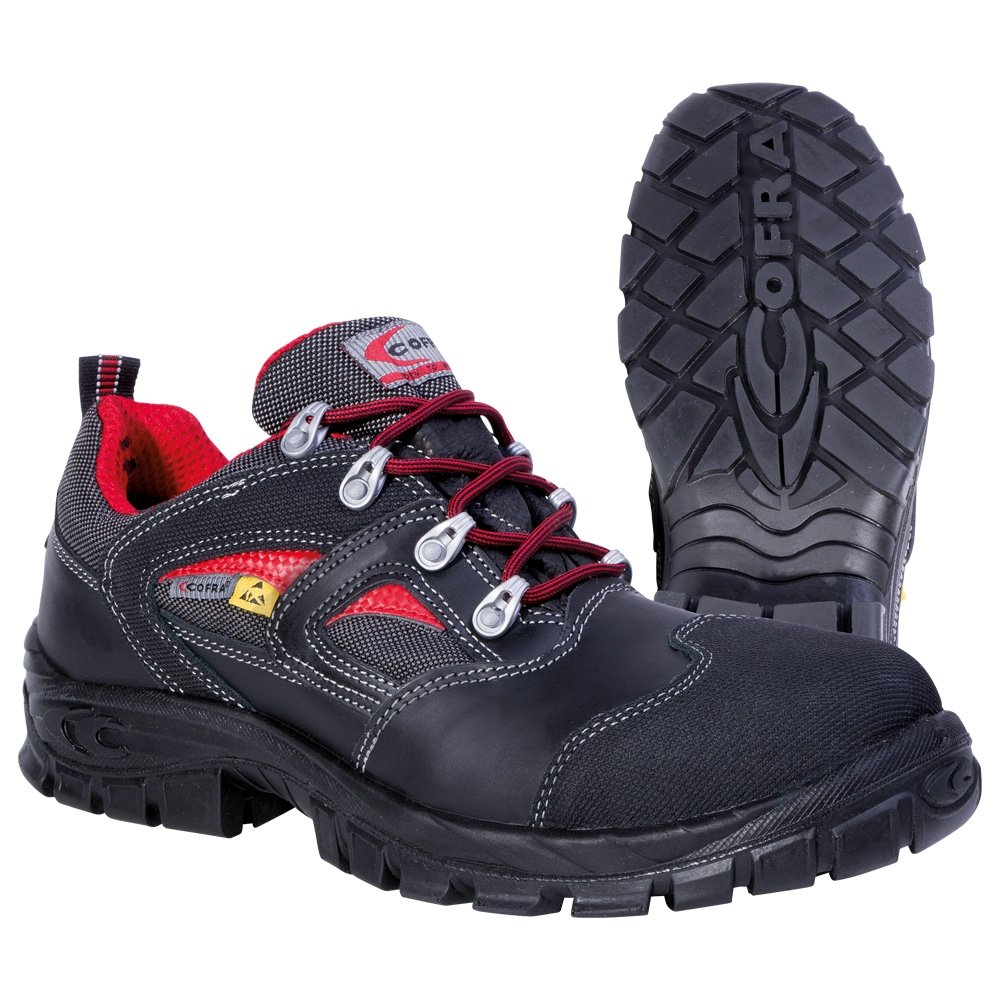 Cofra Hymir Metal Free ESD Men S3 ESD SRC Black Composite Safety Shoes