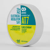 Advance AT7 PVC Electrical Insulation Tape White 33m