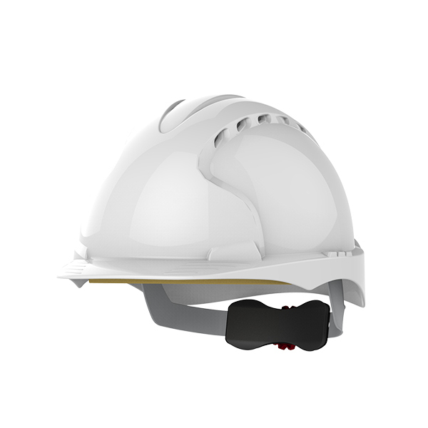 JSP EVO®3 Revolution® Safety Helmet Vented Wheel Ratchet White