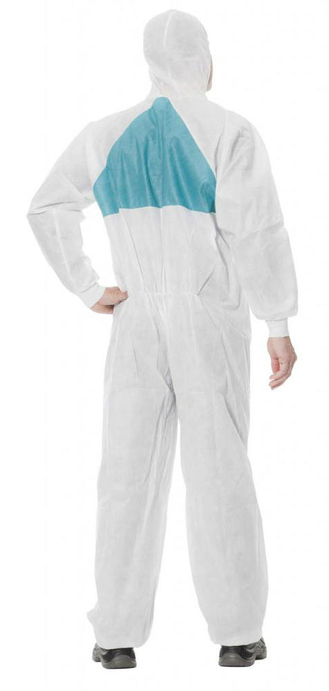 3M 4520 Protective 5/6 Chemical Protective Anti-static Hooded Coverall