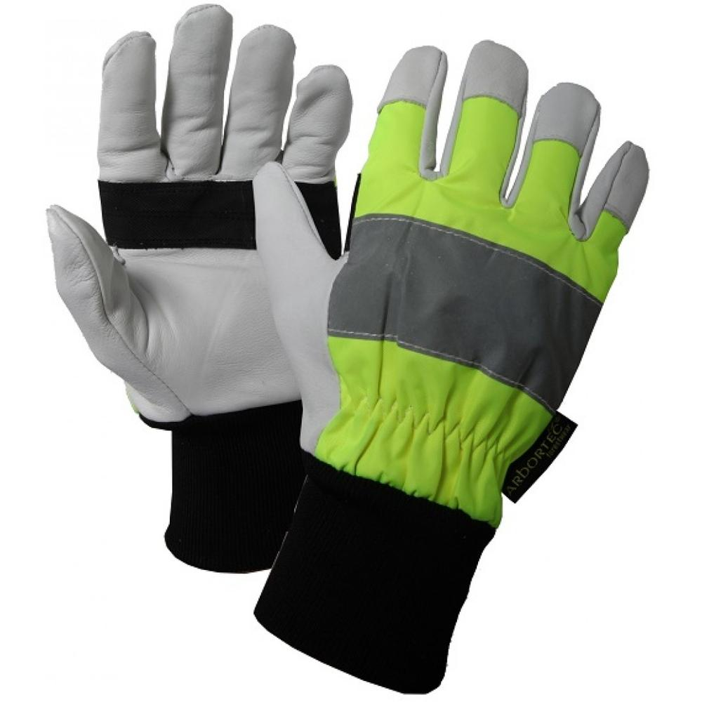 Arbortec AT850 Dyneema Hi Vis Class 1 Chainsaw Forestry Gloves