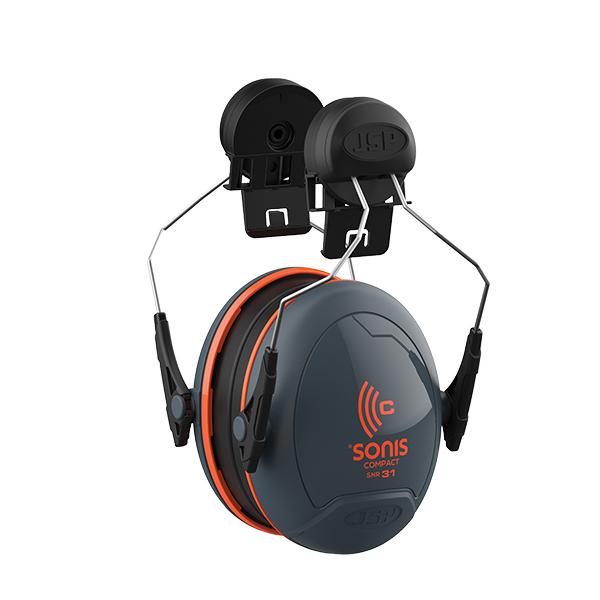 JSP Sonis® Compact Low Profile Helmet Mounted Ear Defenders SNR=31dB