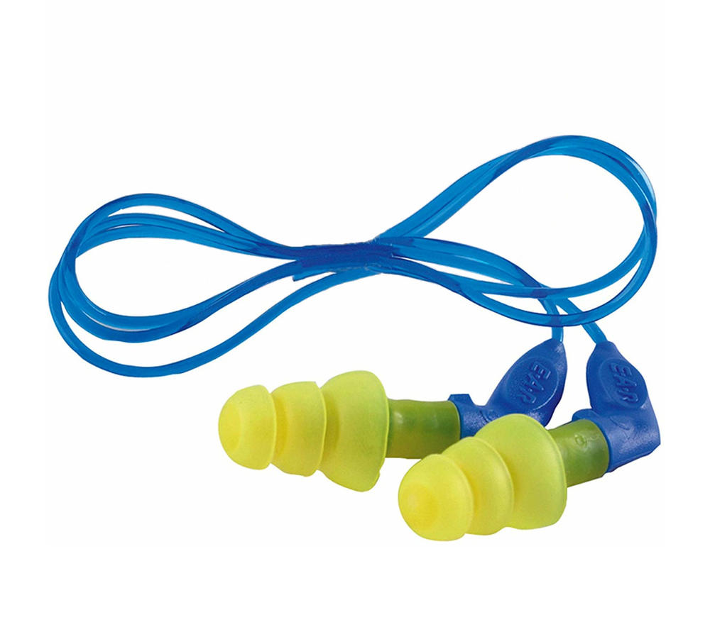 3M UF-01-014 E-A-R Ultrafit X Reusable Earplugs Corded SNR=35dB Pack of 50