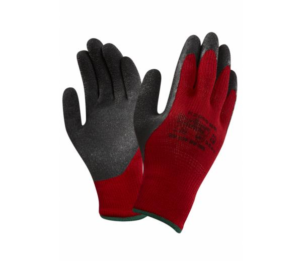 Marigold K2000BR Work Gloves Latex Coated Red