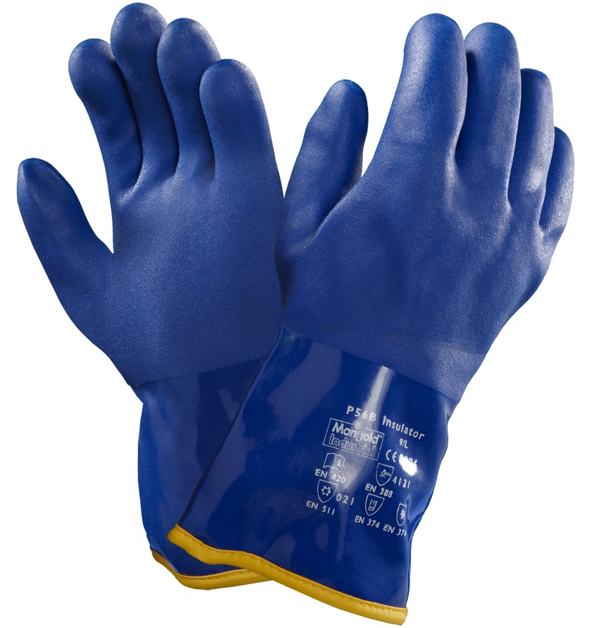 Ansell 23-202 VersaTouch® Work PVC Gauntlets Thermal Lined