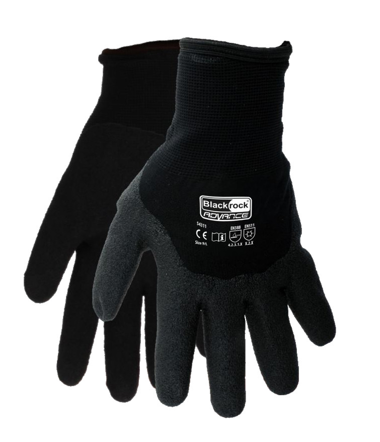 Blackrock 54311 Thermotite Grip Gloves Nitrile Cold Protection