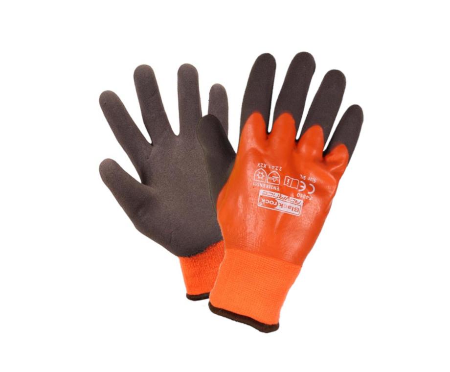 Blackrock 54310 Watertite Latex Thermal Grip Gloves Waterproof Cold Protection