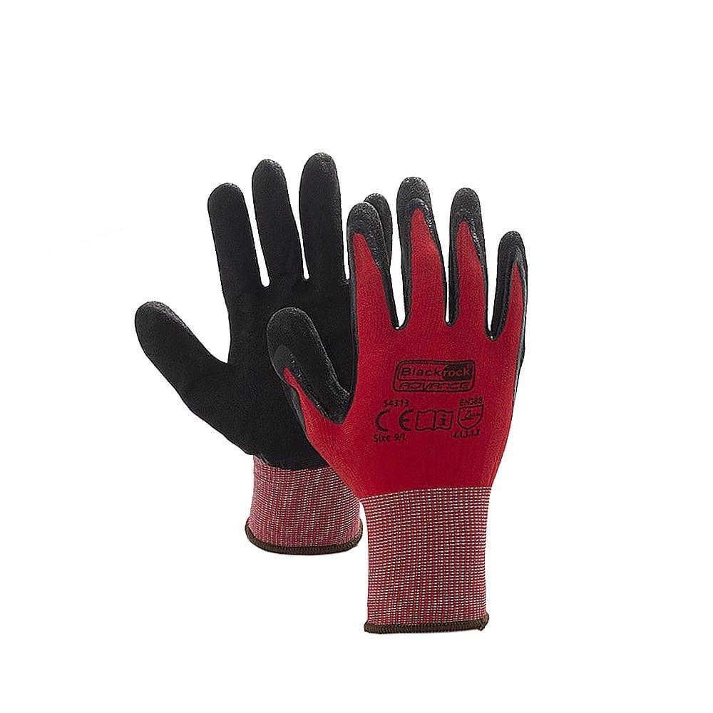 Blackrock 54313 GripMax Work Gloves Nitrile Palm Coating