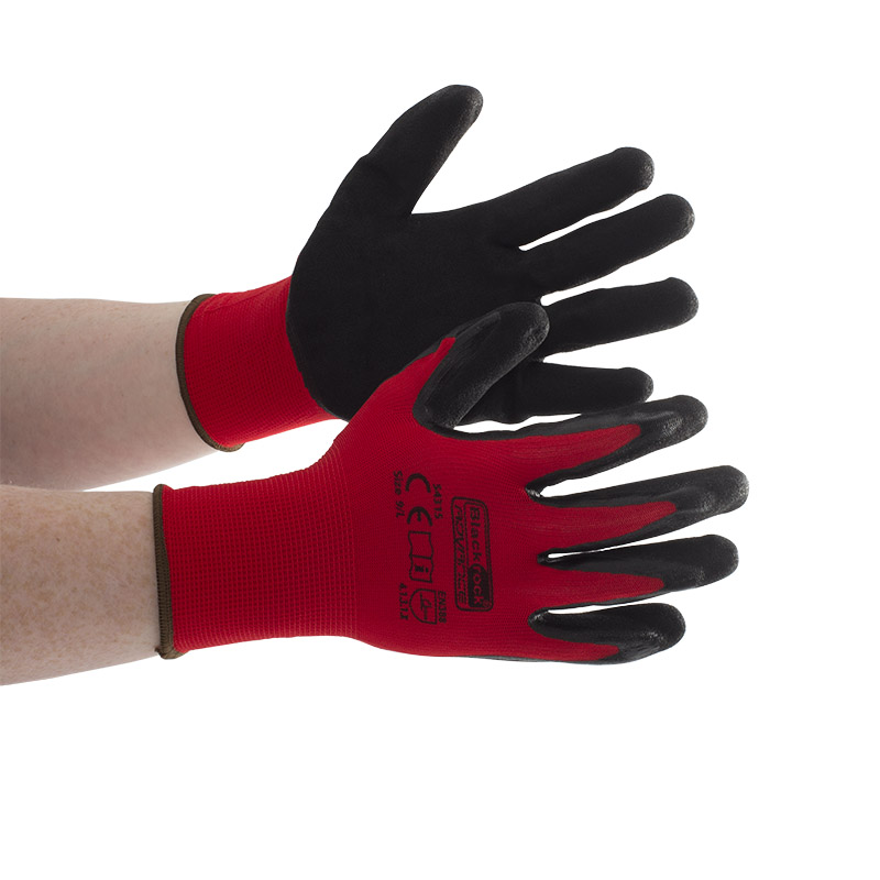 Blackrock 54315 GripMax Work Gloves Nitrile Palm Coating