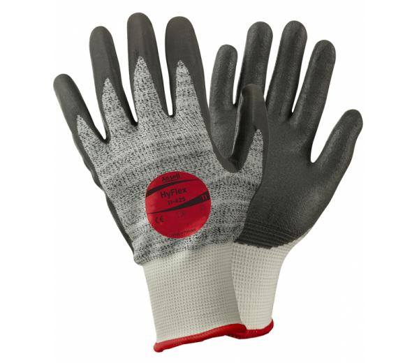Ansell HyFlex® 11-425 Work Gloves Level 5 Cut Resistant
