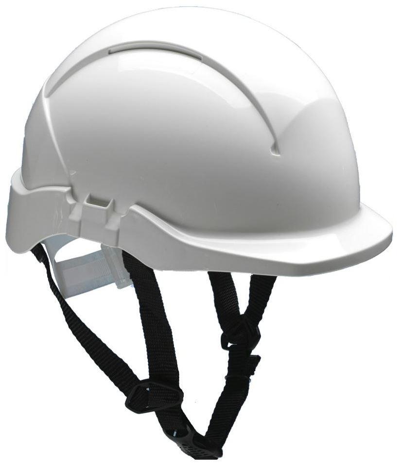 Centurion Concept Linesman Safety Helmet Reduced Peak Chin Strap White