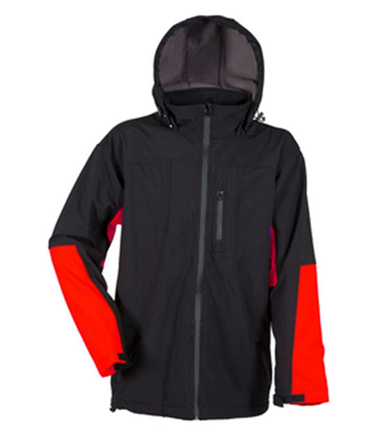Lyngsoe Hooded Windproof Breathable Softshell Jacket FOX 200, Size - Large