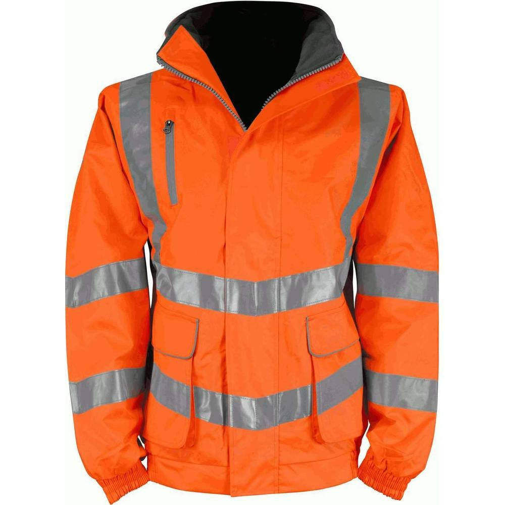 Orbit International HVRBJ Cutlass 2 Hi Vis Jacket Waterproof Orange