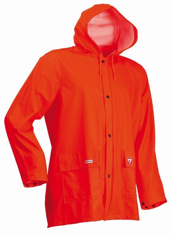 Lyngsoe LR48-05 Orange Waterproof Jacket Microflex