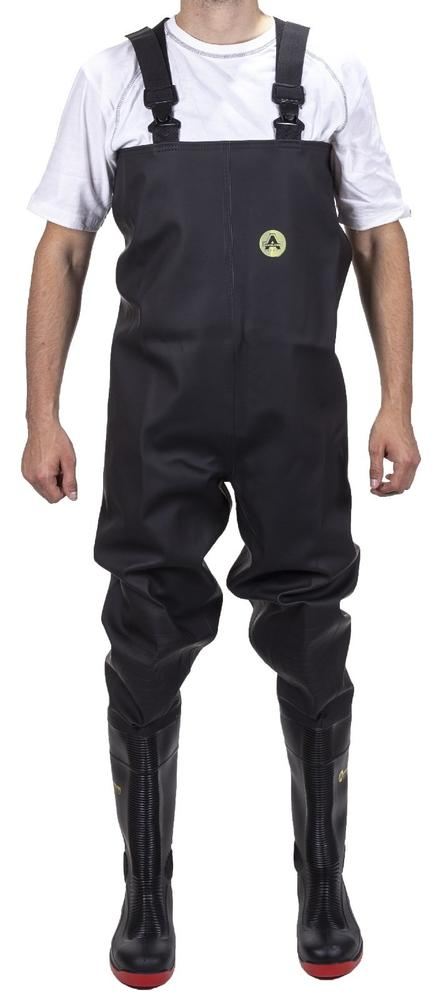 Amblers 1000CW Danube Men Safety Chest Wader Black