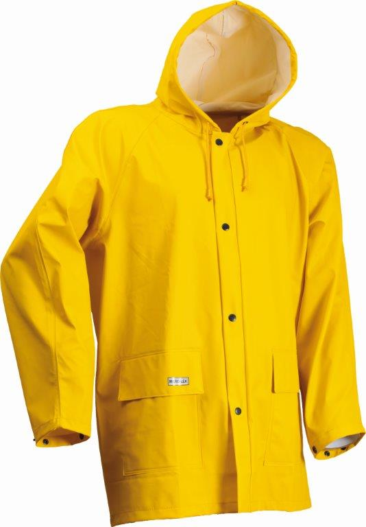 Lyngsoe LR48-56 Yellow Waterproof Wind & Rain Jacket Microflex