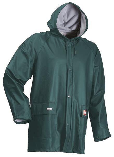 Lyngsoe Rainwear PU Flame-retardant FR-LR48 Jacket Green
