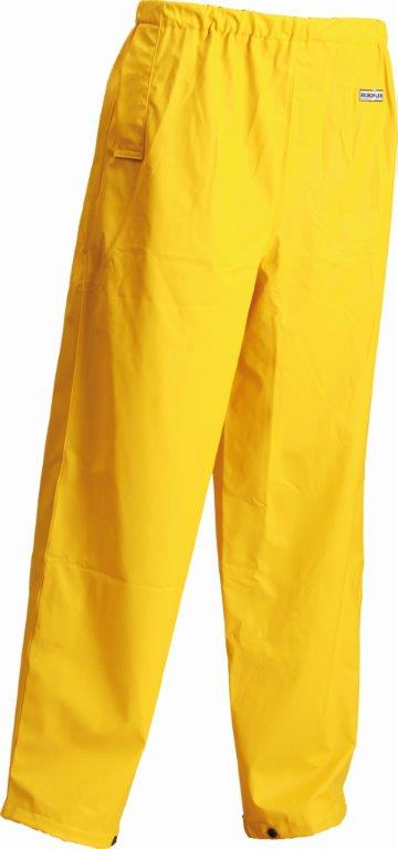 Lyngsoe Flex Waterproof Hi Vis Yellow Microflex Trousers LR41-56