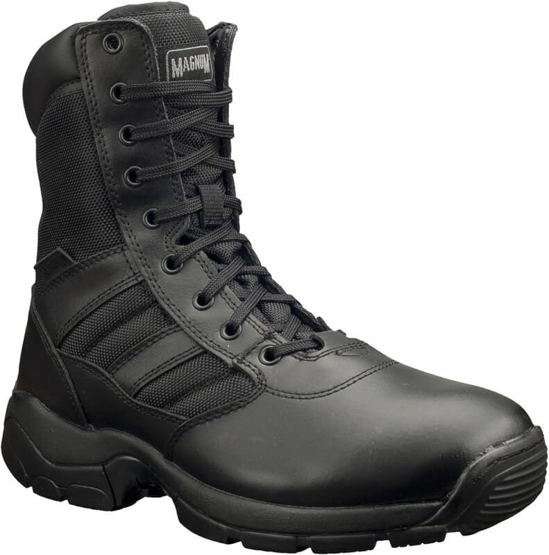 Magnum Panther 8.0 Water Resistant Leather Boot - Black 55616
