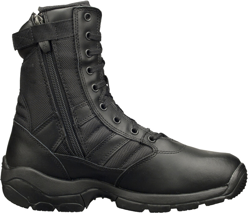 Magnum Panther 8.0 Water Resistant Leather Boot Side Zip - Black 55627
