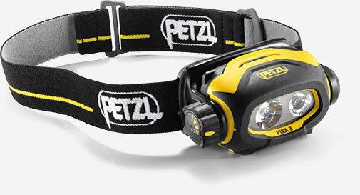 Petzl Pixa 3 ATEX Led Head Torch Waterproof Dual Beam E78CHB Work Camping