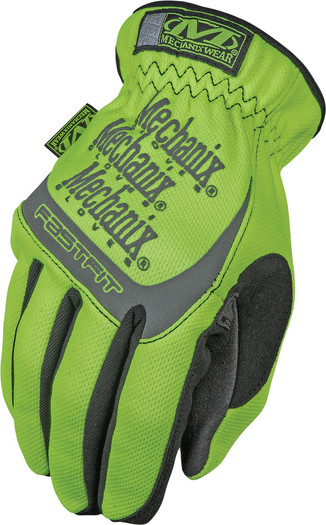 Mechanix SFF-91-010 Safety FastFit Hi-Viz Gloves Automotive Racing Tactical