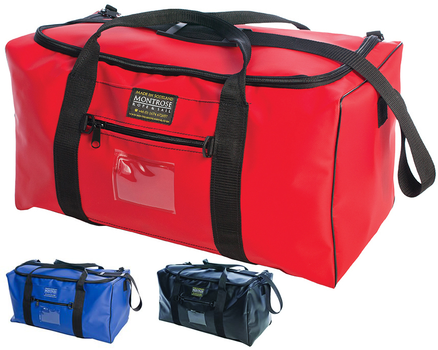 "Montrose 24"" Medium Waterproof PVC Kit Bag (54 litre capacity)"